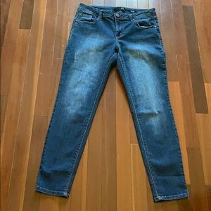 1822 Denim Adrianna distressed jeans